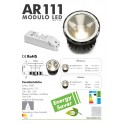 KIT DIMMABLE 1-10V : LED SPOT 600 128368 + 123399 MINI JOLLY HV 1-10V PUSH